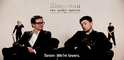 Kingsman The Secret Service Interview Taron Egerton: 25 Best Kingsman Images On Pinterest