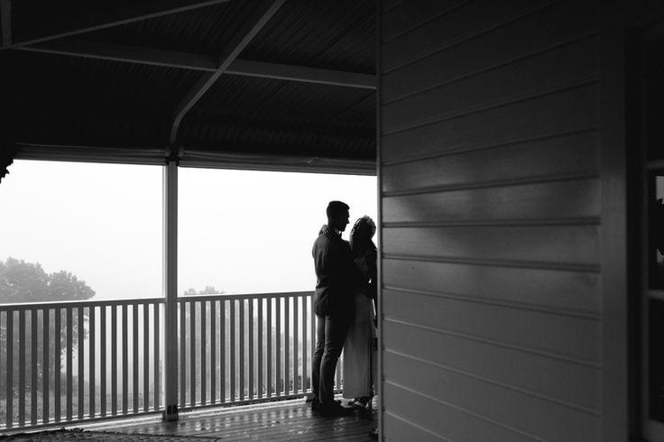 A rain wedding in the Byron Bay hinterland / byronviewfarm / carly tia / the french petal / elopement