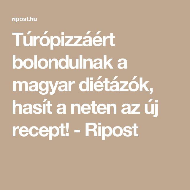 Túrópizzáért bolondulnak a magyar diétázók, hasít a neten az új recept! - Ripost