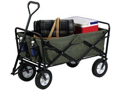 Mac Sports Folding Green Wagon   Best Buy Garden Tools Store