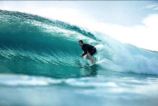 Our production & hardware manager @stevenewby out there killing it!  @waveshotsgoldcoast