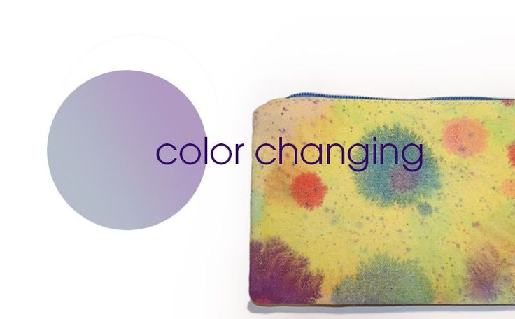 COLOR CHANGING CANVAS PURSE via rainbow warriors by esther zahn. Click on the image to see more!