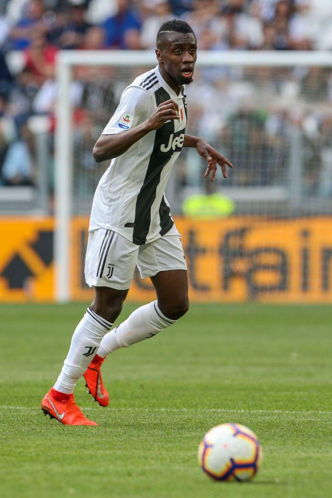 TURIN, ITALY - APRIL 20: Blaise Matuidi of Juventus runs for the