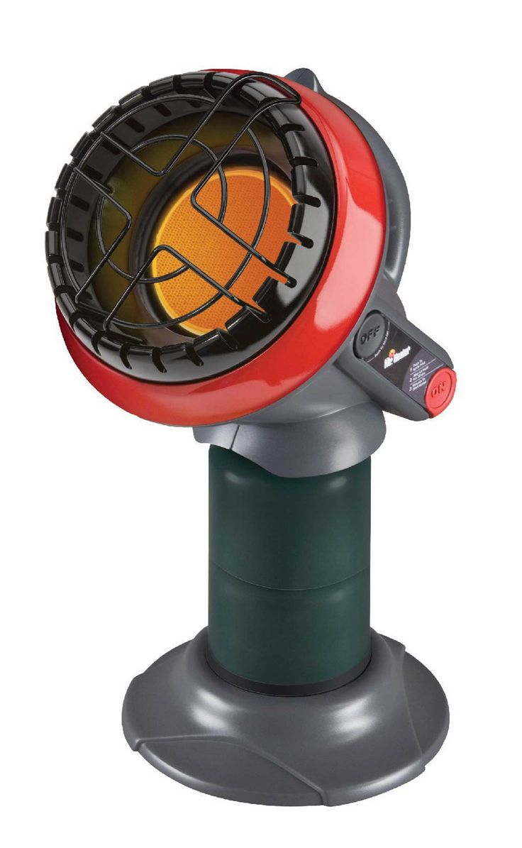 Portable propane heater provides safe indoor heat when you need it, where you need it.