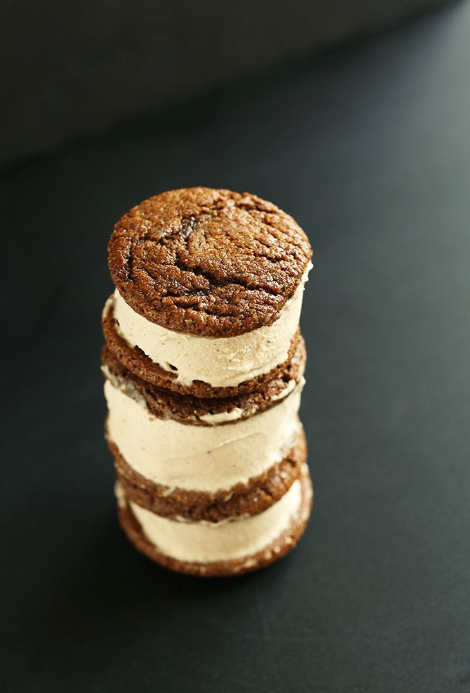 Chai Ginger Ice Cream Sandwiches | Eats-Desserts&Sweets | Pinterest