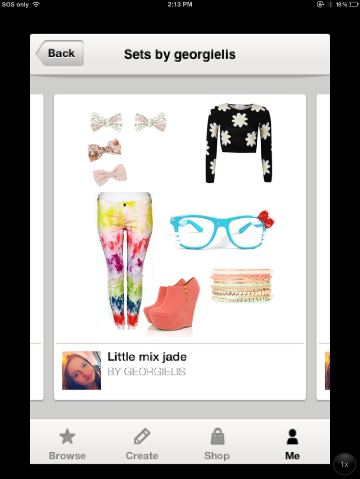 From my little mix sets on ployvole this is jade