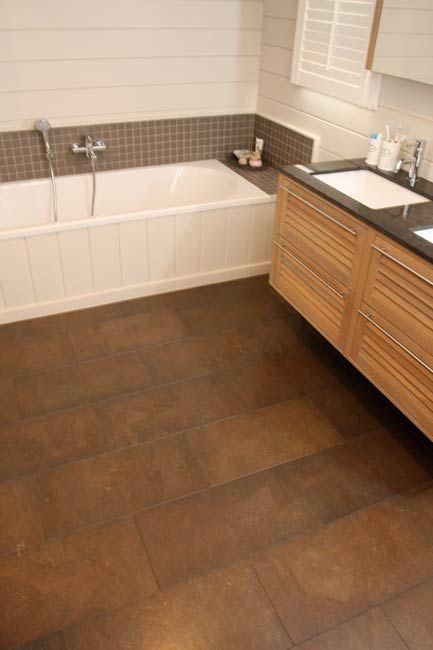 plancher de li ge salle de bain recherche google sdb. Black Bedroom Furniture Sets. Home Design Ideas
