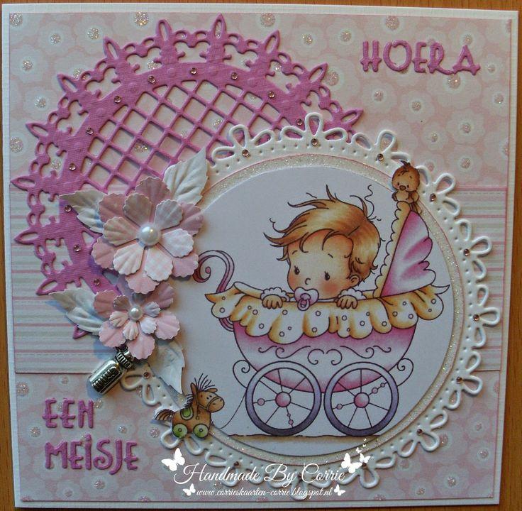 Corrie's Scrapkaarten: BabyKaart