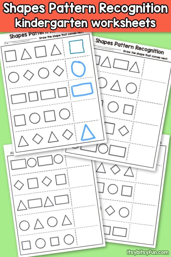 Shapes Pattern Recognition For Kindergarten Pattern Recognition