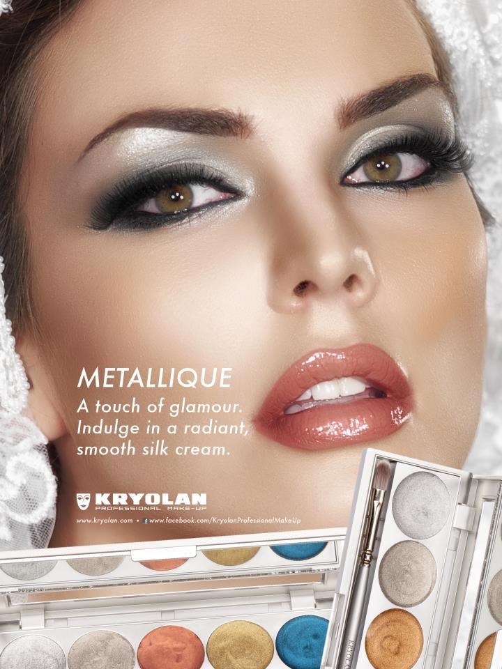 kryolan metalique palette - fall/winter online at Vivadream.com