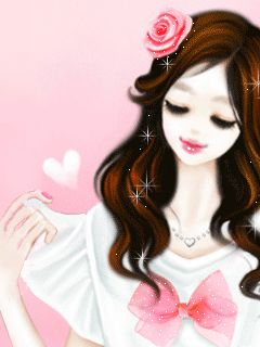 Gif Glitter Girl | Animated GIFs » Girl Thing » Lovely Girl