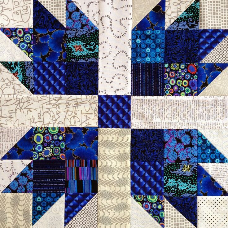 Wendy S Quilts And More Scrappy Bear Paw Quilt Bear Paw