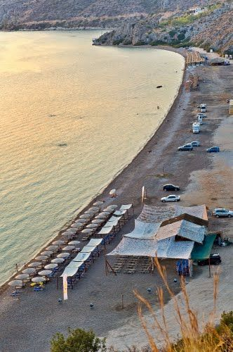 Vivari, Kondyli Beach / Βιβάρι, παραλία Κονδύλι, Asini, Greece