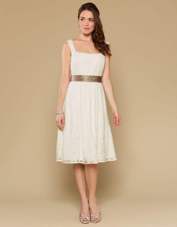 Crissy Dress | White | Monsoon