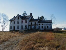 Abandoned house in Frankford, New Jersey...oh my