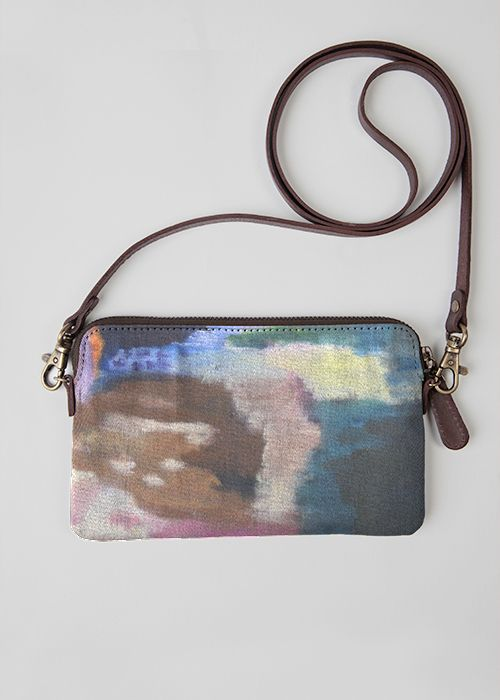 Statement Clutch - Living Water hand bag by VIDA VIDA