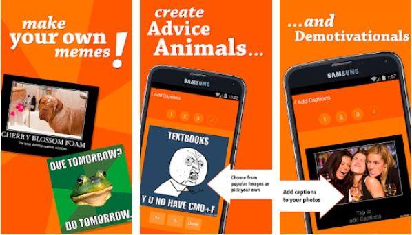 10 Best Meme Creator Apps For Android And Ios Meme Maker App Best Meme Maker App Create Memes