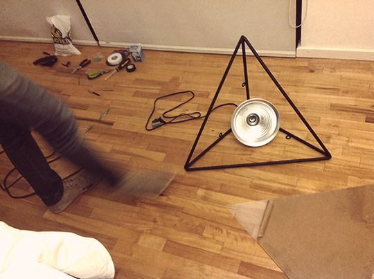 $900 Designer Lamp DIY'ed With Affordable Hardware Parts. I love making high end designs without the crazy price!