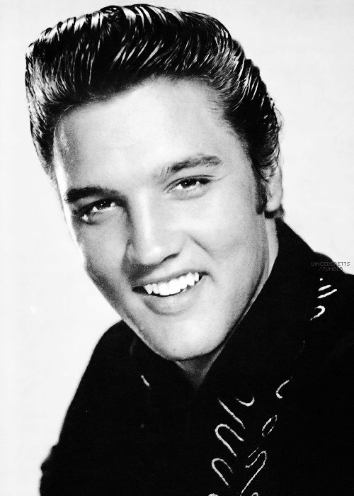 "Elvis in a publicity shot for""Love Me Tender"",  photographed by Frank Powolny, 1956."
