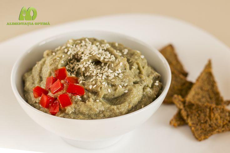 Pate de vinete cu susan (Baba Ghanoush) » Alimentația Optimă