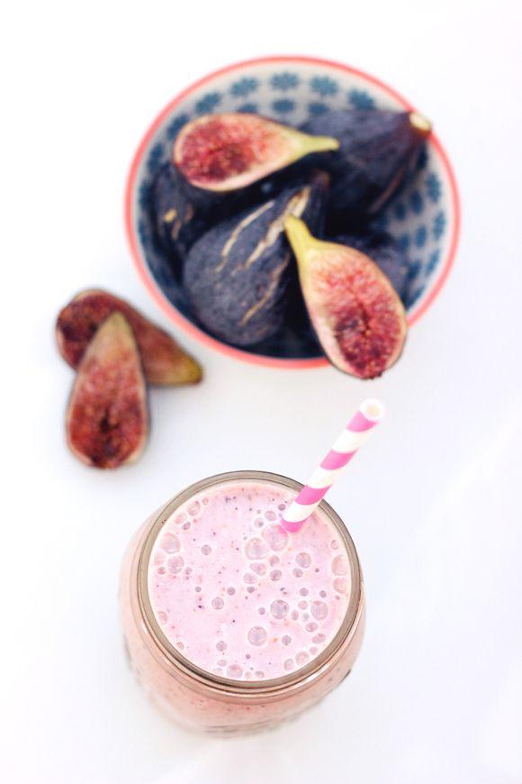 Fresh Fig & Banana Smoothie (Gluten-Free & Vegan)