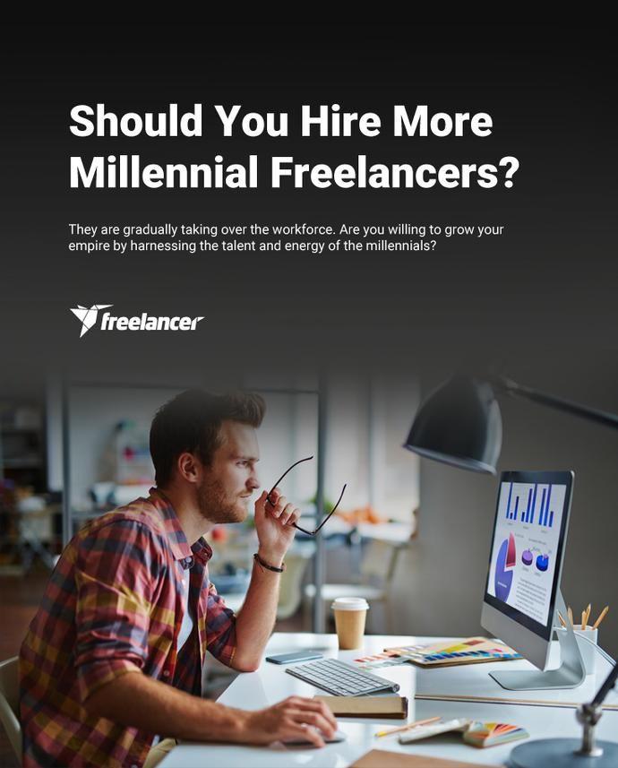 Should You Hire More Millennial Freelancers? #freelancing #freelancer #startups #business #entrepreneurship #smallbiz #smallbusiness #millennials