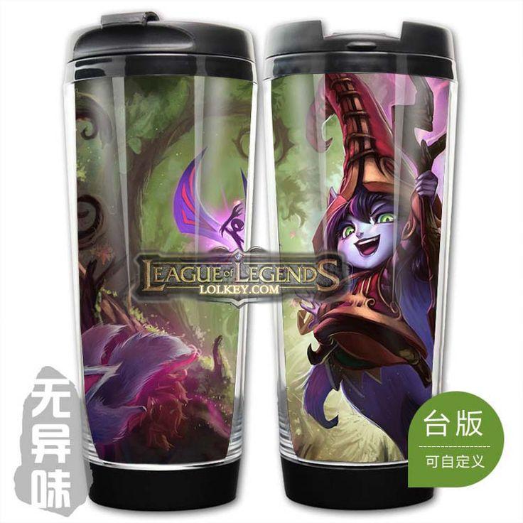 League of Legends LOL Classic Skin Lulu Plastic Coffee Cup