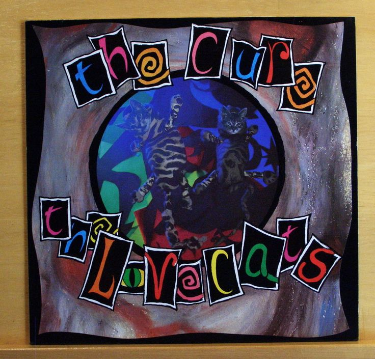 THE CURE The Lovecats 12  Vinyl Maxi - Speak my Language Mr. Pink Eyes Top RARE