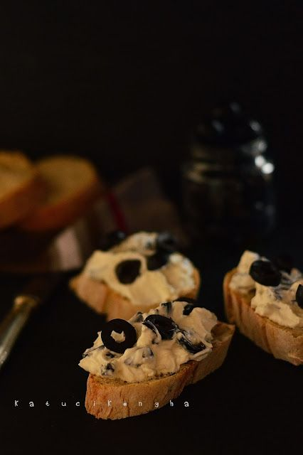 Katucikonyha: Olívás juhtúró krém