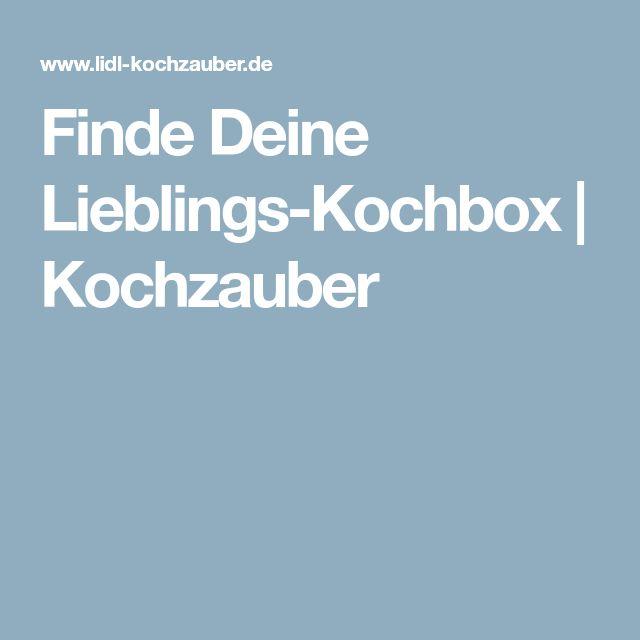 Finde Deine Lieblings-Kochbox | Kochzauber