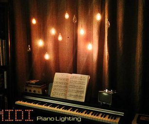 Instructables: awesome MIDI Piano Lighting!