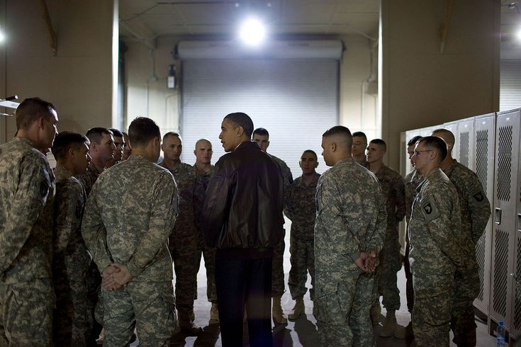 "https://flic.kr/p/95XYVT | P120310PS-0485 | Dec. 3, 2010 ""While at Bagram Airfield in Afghanistan, the President met with a platoon who had just lost six members, killed unsuspectedly by an Afghan who had worked alongside them.""  This official White House photograph is being made available only for publication by news organizations and/or for personal use printing by the subject(s) of the photograph. The photograph may not be manipulated in any way and may not be used in commercial..."
