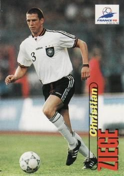 1998 Panini World Cup #36 Christian Ziege Front