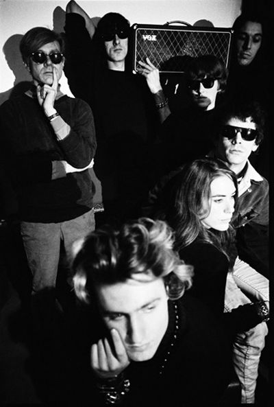 Go away nico..  The Velvet Underground, Andy Warhol - The Factory, 1966 - photo by Nat Finkelstein
