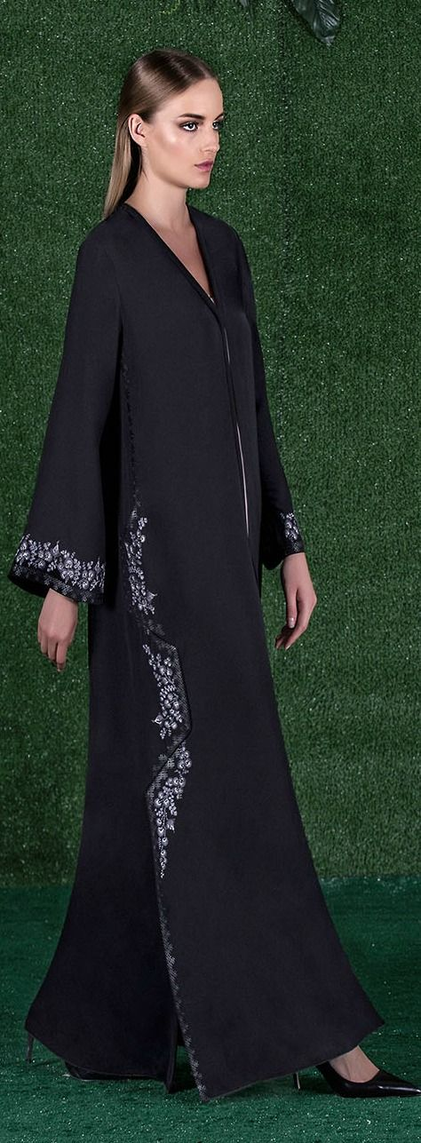 Signature Cut with Flowery Embroidered and Lasercut____Ramadan Eid 2016 --- Mauzan