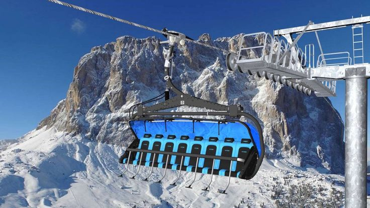 News in Val Gardena 2016/17: First 8-seater chairlift with heated seats in Italy