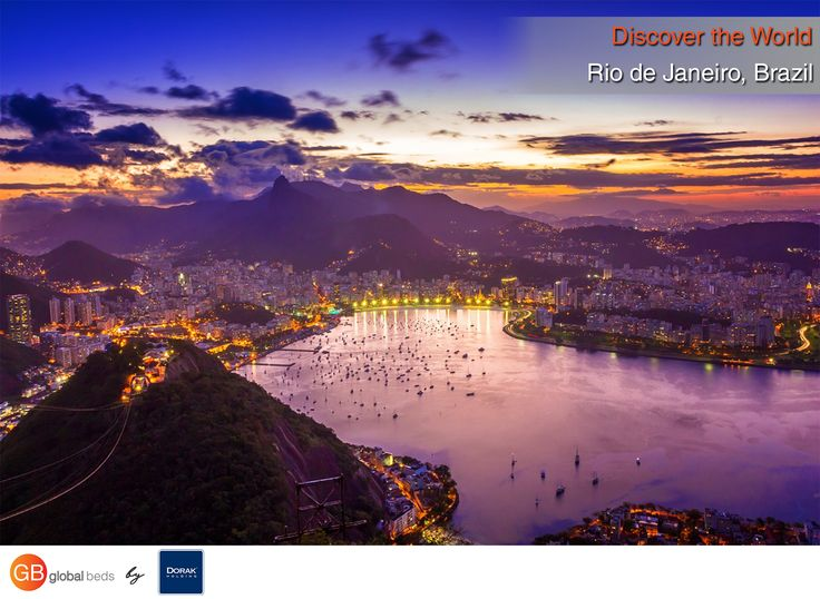 """Rio de Janeiro means """"January River"""" and it was called that by mistake. A Portuguese explorer thought the bay was the mouth of a river.  #onlinebookingsystem #FIT #RiodeJaneiro #Brazil #namemeans #discovertheworld #fact #factoftheday #instadaily #todayspost #view #viewoftheday #views #picoftheday #DorakHolding #GB #GlobalBeds"""