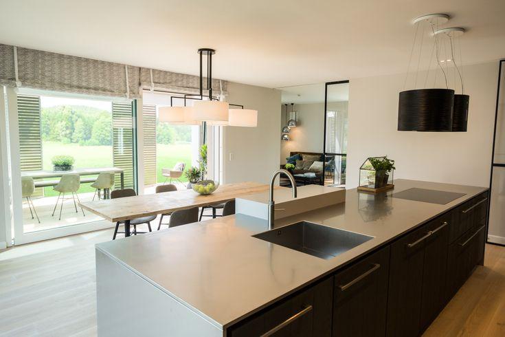 Inneneinrichtung Haus Evolution 136 V4 Bien Zenker - wohnzimmer mit offener küche