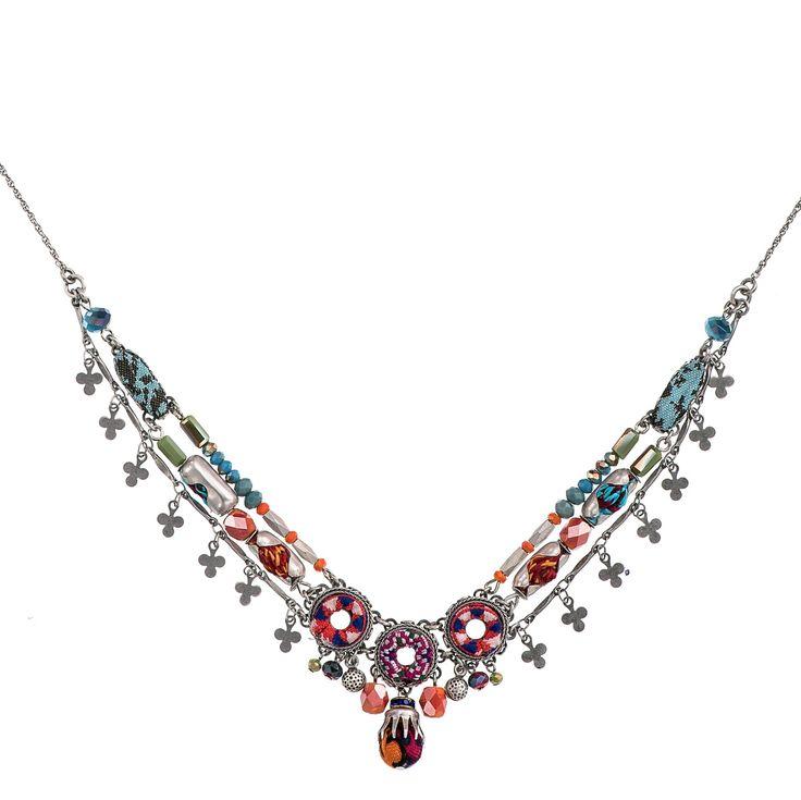 Crimson Queen Cave Necklace  Ayala Bar Hip Collection Summer 2016