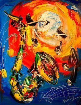 #Déco #Décoration #Abstrait #Tableaux #FCDECO #Art #Peinture #PeinturessurToile #Musique #Instruments #Saxophone  http://www.peintures-sur-toile.com/peinture-saxophone-orange-bleu-xml-356-3265.html