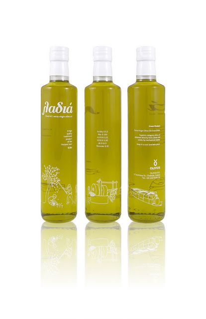 La-diá Extra Virgin Olive Oil on Packaging of the World - Creative Package Design Gallery