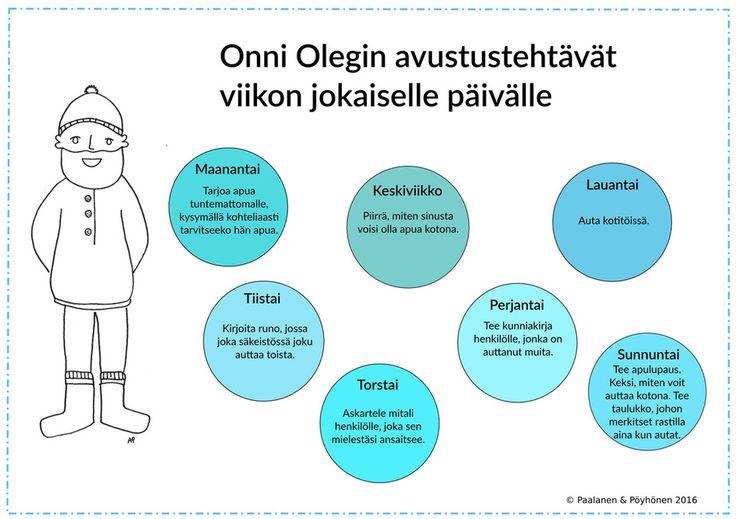 Onni Olegin viikkotehtävät: Auttaminen