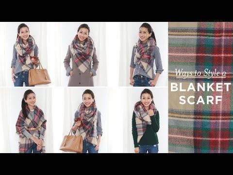 6444bf53fca Lots of Ways To Wear A Blanket Scarf Without Looking Like You re ...