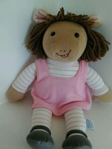 Eden TV Show Arthur PBS - Dora Winifred - Arthur's Sister DW - http://hobbies-toys.goshoppins.com/tv-movie-character-toys/eden-tv-show-arthur-pbs-dora-winifred-arthurs-sister-dw/