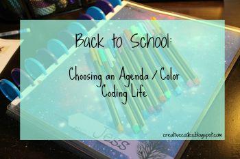 #College #Agenda #Colorcoding
