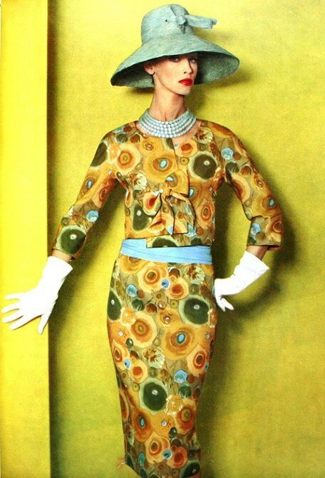 1960 Fashion Style Print Dress Styles By Decade