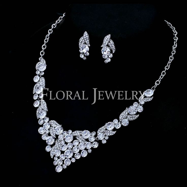 Wholesale-Crystal-Imitation-Diamond-Accessory-Bling-Brinco-Silver-Wedding-Jewelry-Sets-Necklace-Earring-Set-for-Women.jpg (750×750)