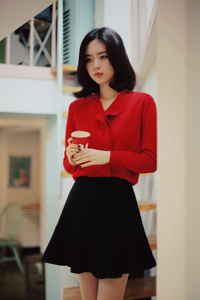 black and red