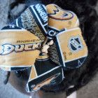 Anaheim Ducks Fabric Hibiscus Barrette