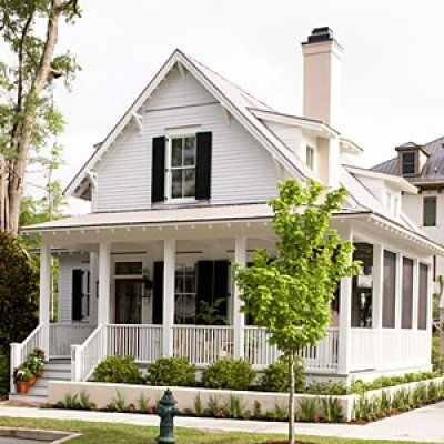 1000 images about southern living house plans on for Cottage house plans with porches